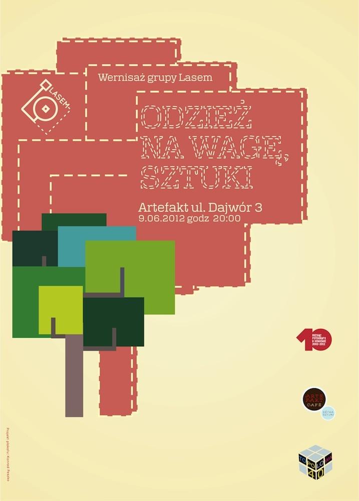 Poster to LASEM exhibition in Cracow, Poland    #posters #grupalasem #lasem #art