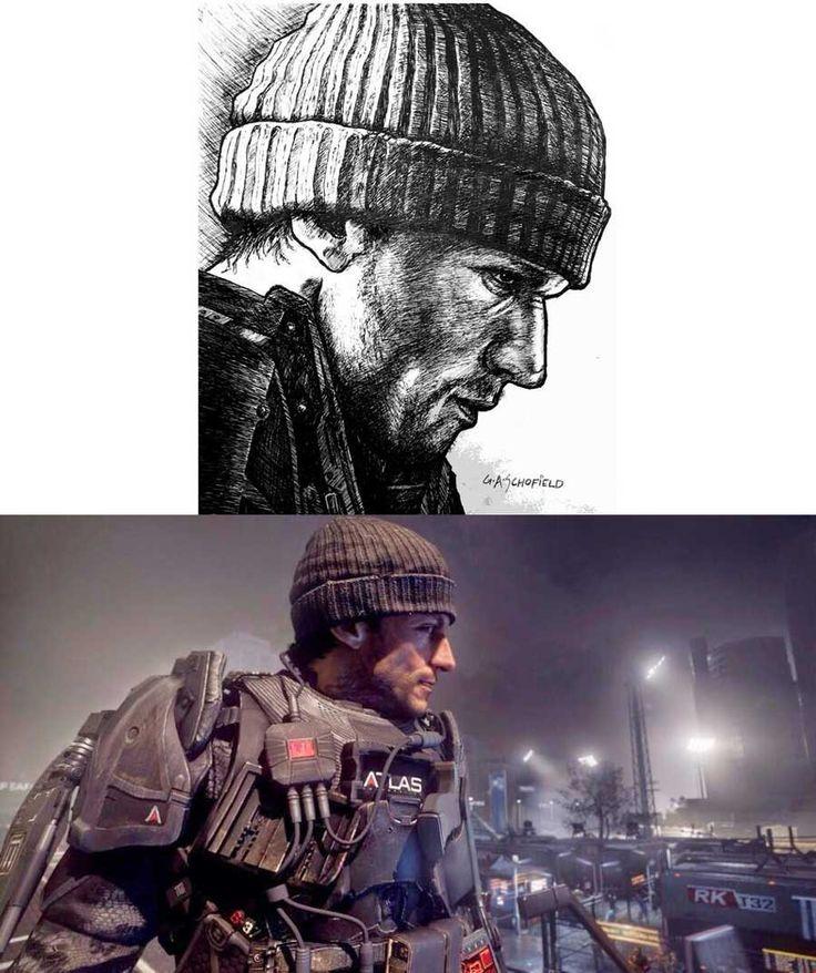 Call of Duty: Advanced Warfare'in Çizimleri Paylaşıldı | Pc Webim