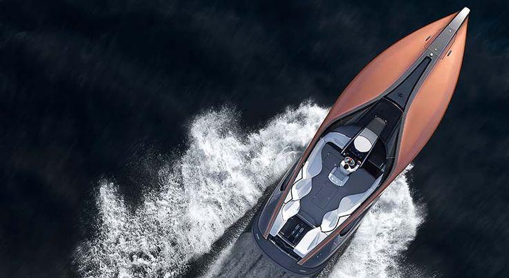 Lexus Sports Yacht Concept, lujo máximo sobre el agua - http://autoproyecto.com/2017/03/lexus-sports-yacht-concept.html?utm_source=PN&utm_medium=Pinterest+AP&utm_campaign=SNAP