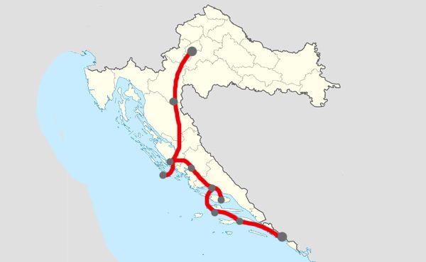Itinéraire en Croatie - 14 jours de Zagreb à Dubrovnik en passant par split