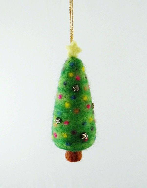 felted christmas tree - Google Search