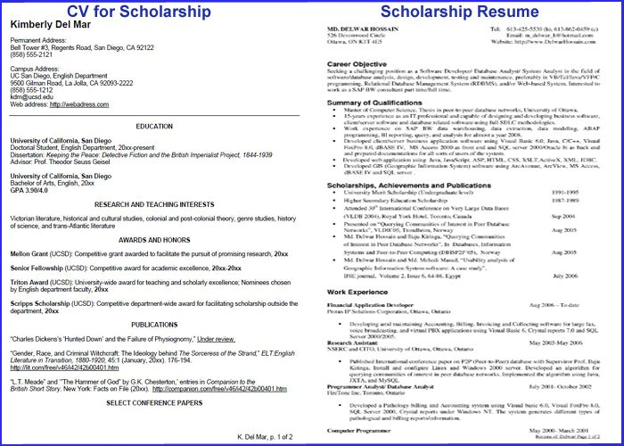 how to write impressive cv for scholarship  u2013 2019 scholarship positions blog