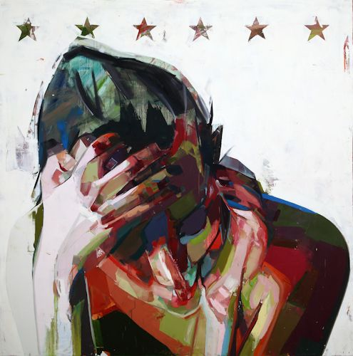 Laughing With a Mouth Full of Blood  New Paintings by Simon Birch