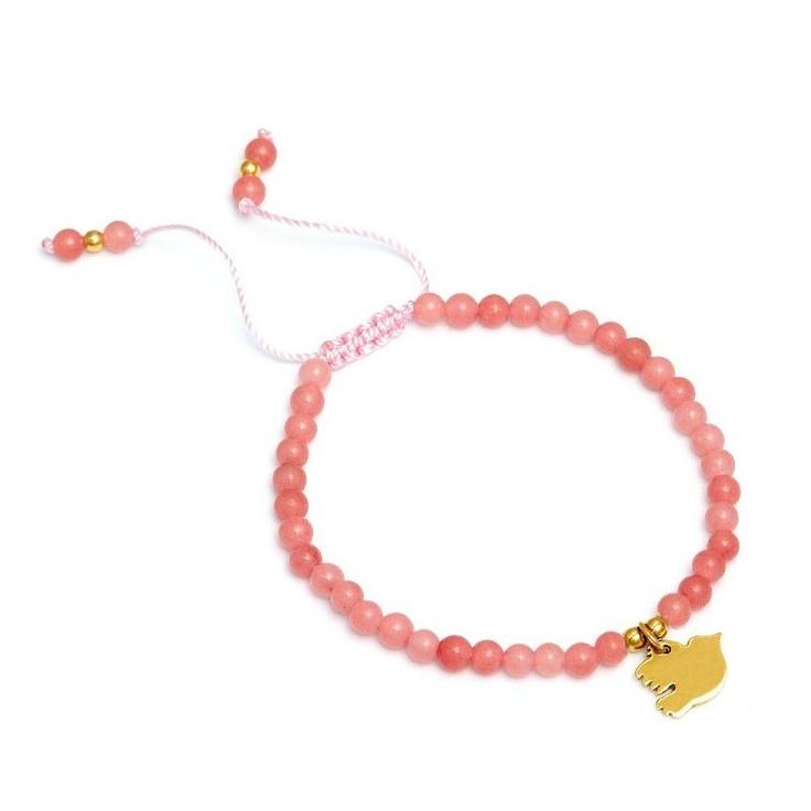 Lola Rose Tilda Coral Quartzite Bracelet