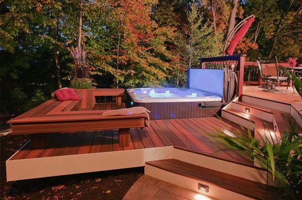 Best 25+ Backyard hot tubs ideas on Pinterest   Hot tub ...