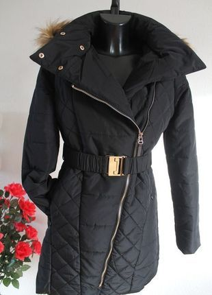 Kaufe meinen Artikel bei #Kleiderkreisel http://www.kleiderkreisel.de/damenmode/mantel/111325714-blogger-mantel-goldenen-reissveschluss-xl-kapuze-kunstfellkragen-4042