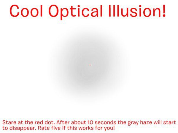 optical illusions cool moving scary illusion dot awesome fun creepy part facts interesting trivia