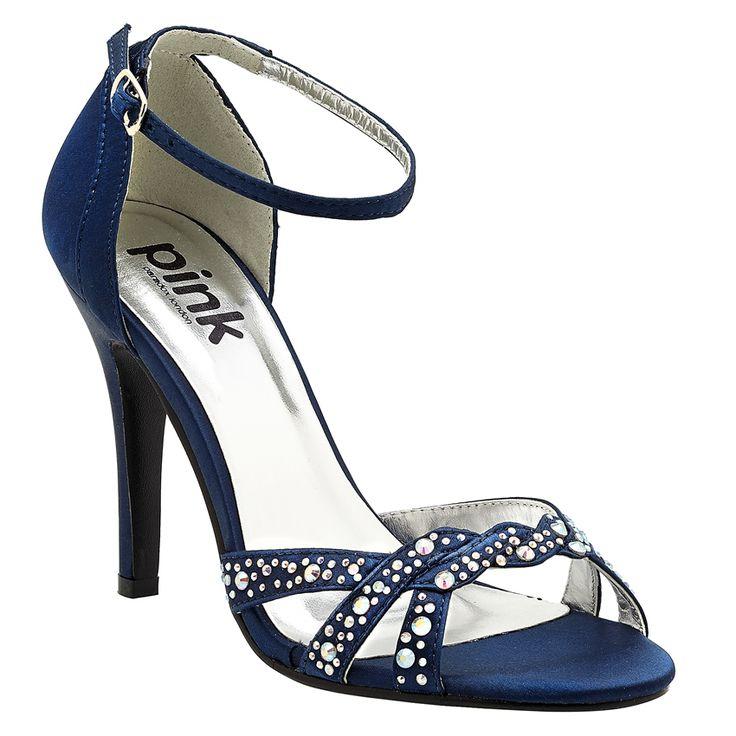 Paradox Zara Navy Sandals Wedding Shoes