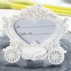 carriage place card holder card holder weddinggift