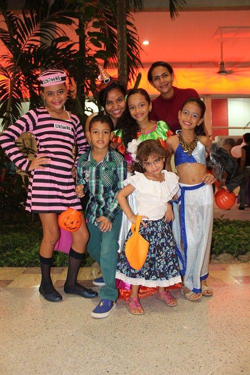 Halloween en ALAMEDAS...Una Noche temática CIRCUS Repleta de Mucha Diversión y dulces ! @alamedascc