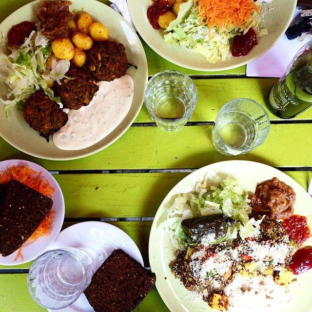 Exploring the vegan places at Södermalm