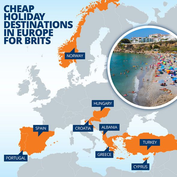 Mapped The Best Value European Holiday Destinations European Holidays Holiday Destinations Cheap Holiday