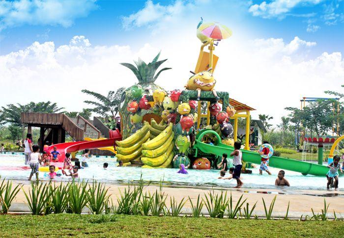 Water Kingdom at Mekarsari, a new fun water park