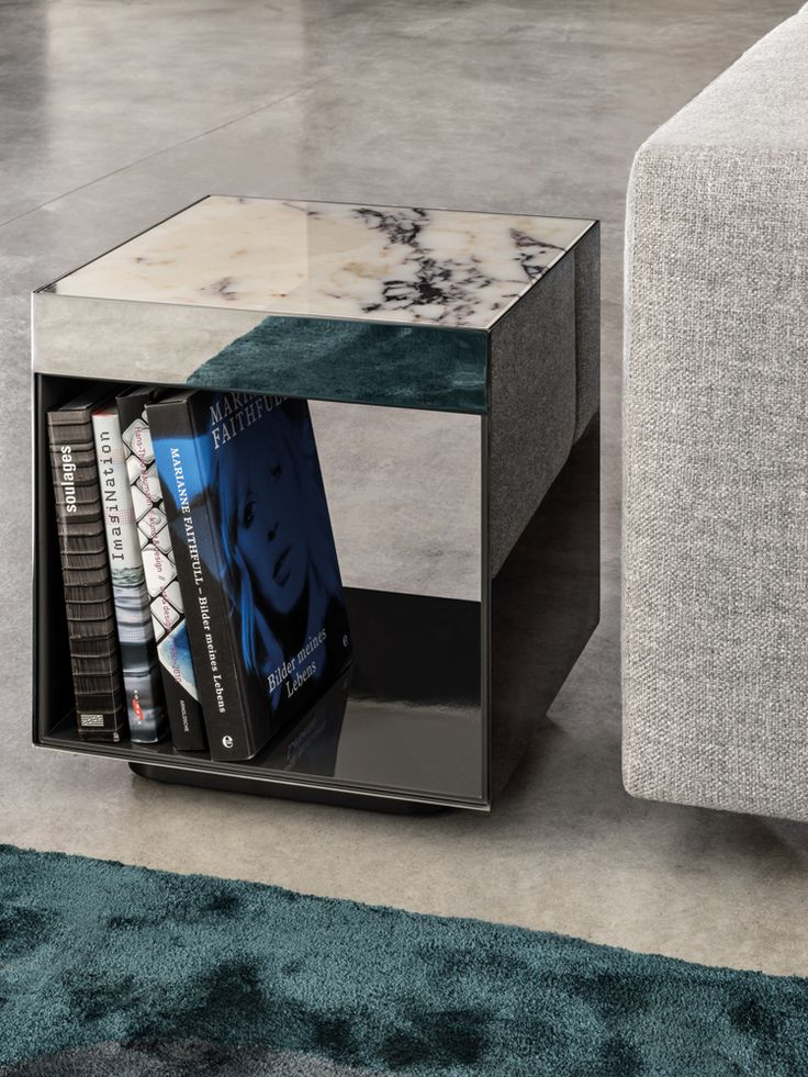 Stół Z Marmurowym Blatem / Elliott Coffee Tables / Minotti / Rodolfo
