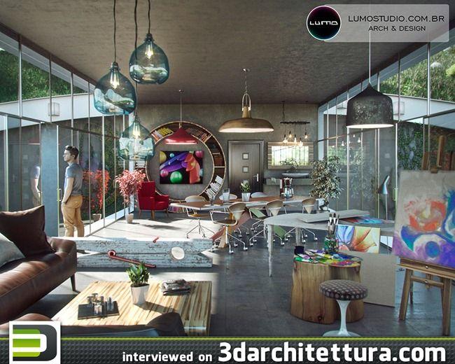 Tiago Sillos Padovani, render, 3d, architecture, design 3darchitettura http://www.3darchitettura.com/tiago-sillos-padovani/