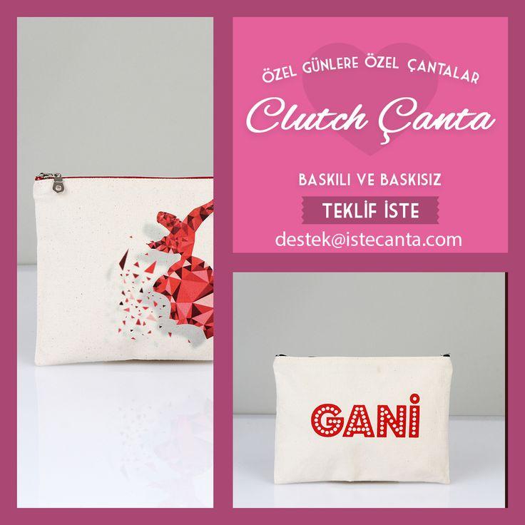 Özel günleriniz için en iyi sunum! Clutch çantalar kapınıza kadar geliyor. Baskısız siparişleriniz için istecanta.com'u ziyaret edebilir, baskılı siparişleriniz için destek@istecanta.com adresine mail gönderebilirsiniz. #bezcanta #clutch #elcantasi #portfoy #totebag