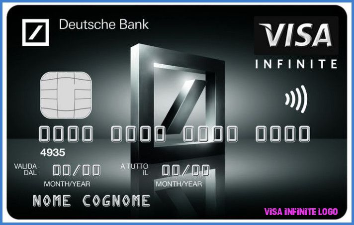 This Is Why Visa Infinite Logo Is So Famous Visa Infinite Logo In 2020 Visa Debit Card Credit Card Application Black Card