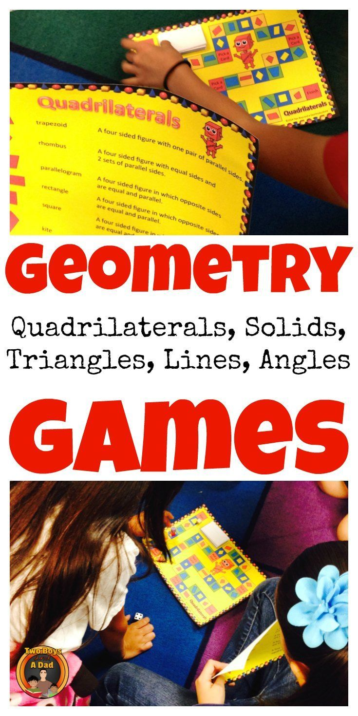 Geometry is full of vocabulary to name shapes, angles, quadrilaterals, triangles and lines.  With these games, students have fun while learning geometry vocabulary.  Five game boards, 2 levels of play.  Come check out the preview!