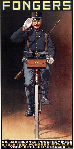 Fongers bicycles ~ E. G. Schlette