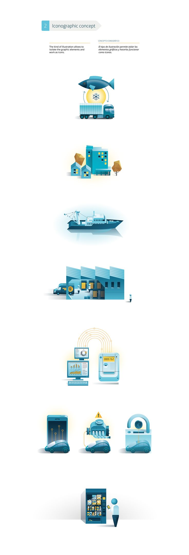 m2m Infographics on Behance