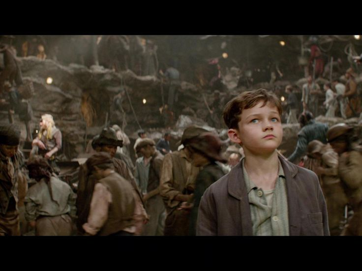 Pan- Movie Hugh Jackman, Garrett Hedlund, Rooney Mara, Adeel Akhtar, Levi Miller, Amanda Seyfried in Pan