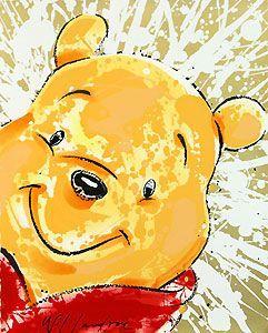 Winnie the Pooh - - David Willardson - World-Wide-Art.com -