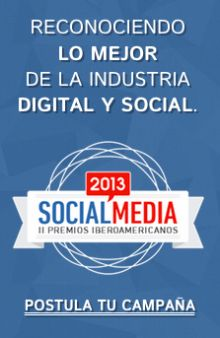 Premios Iberoamericanos de Social Media. Postula tu campaña y descubre mucho más en premiossm.com un evento dentro del marco del congresosm.com