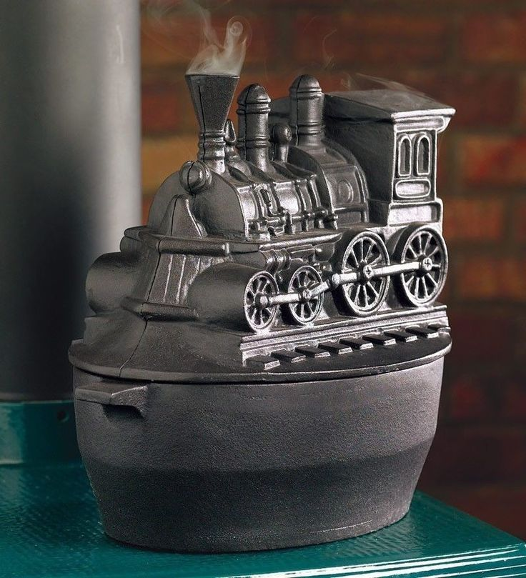 Black Vintage Wood Stove Cast Iron Kettle Pot Steamer Train for Fireplace  Insert - 60 Best Cast Iron Stove Steamers Images On Pinterest Wood Stoves