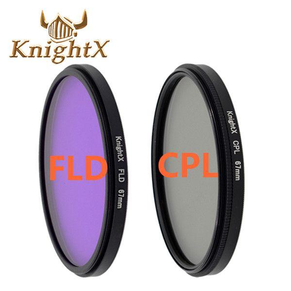 KnightX 52 55 58 67 77 мм FLD УФ CPL MC MCUV Фильтр для Sony Pentax Nikon Canon D5200 D5300 D3300 D5500 100D EOS 400D 550D 500D купить на AliExpress