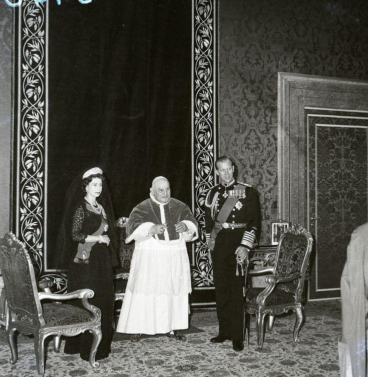 Dukepope: 55 Best Images About Elizabeth II & Popes On Pinterest