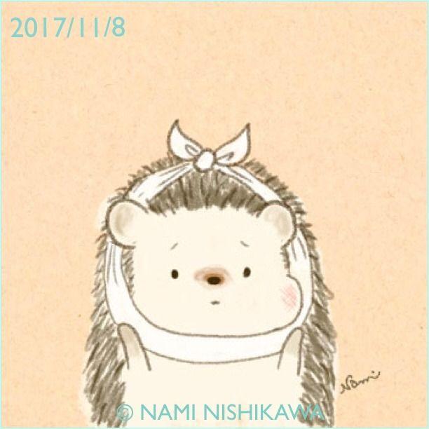 1326 i have a toothache. #illustration #hedgehog