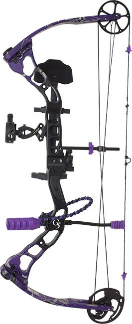 quest bliss compound bow package for women yes! i want purple ...
