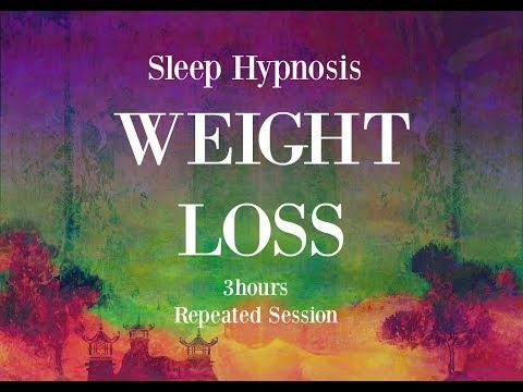 13) 3 hours repeated loop ~ Sleep hypnosis for weight loss