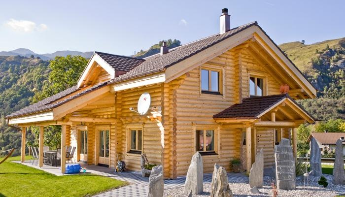 Alpine Chalet - HONKA log home