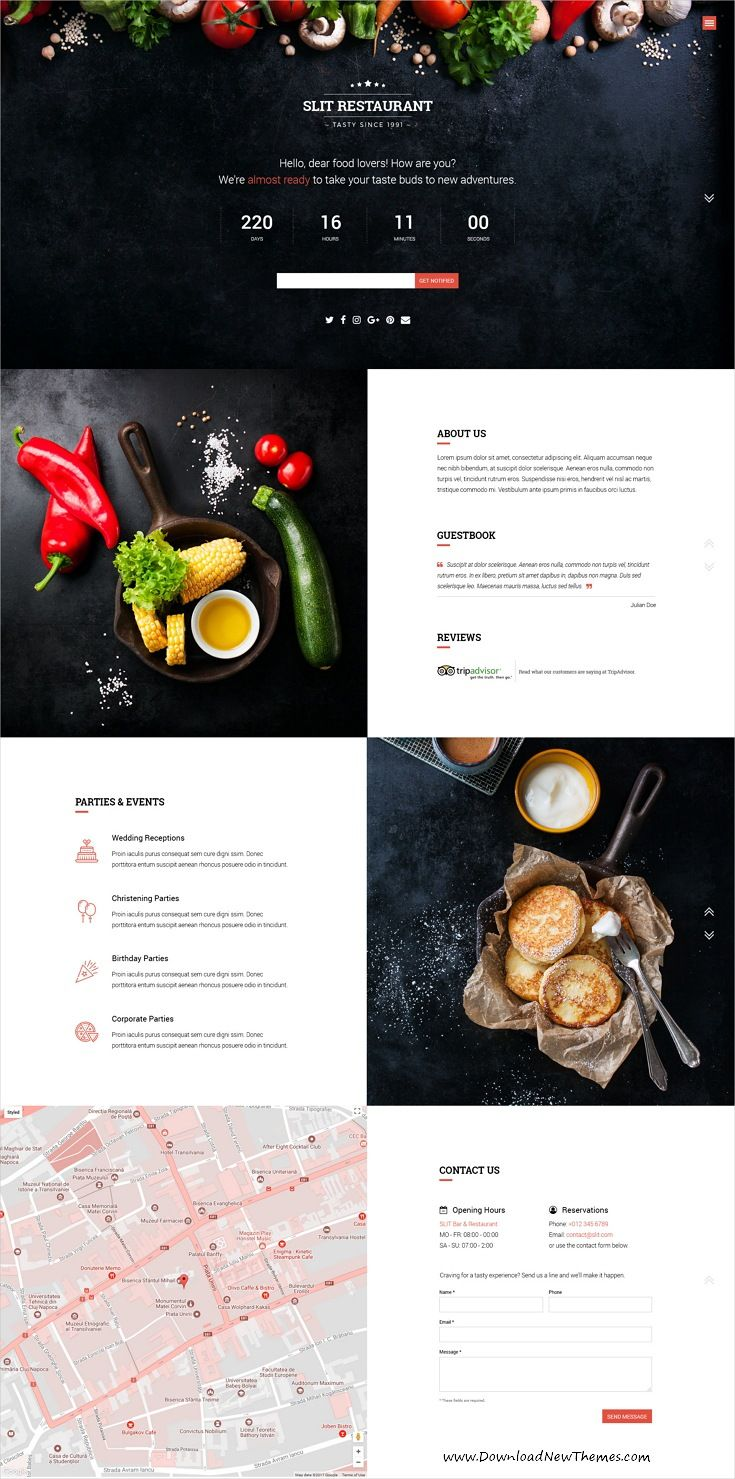 Slit Is Clean And Modern Design Responsive Bootstrap Html Template
