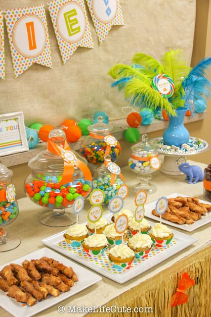 Dinosaurs Baby Shower Party Ideas | Photo 1 of 59 | Catch My Party