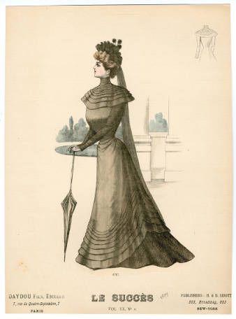 1899, Plate 016 :: Costume Institute Fashion Plates
