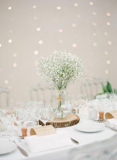 Decoração de casamentos com mosquitinho ou chuva de prata!