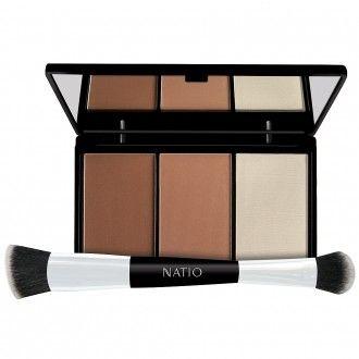 Natio Contour Palette and Bonus Brush 15 g