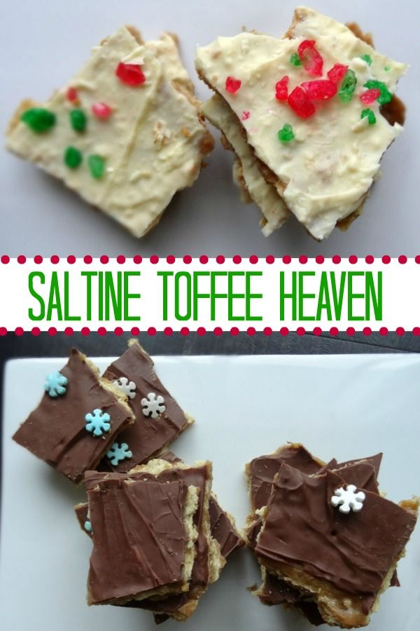 It's December! Time to indulge. Christmas crack is a great place to start #christmas #christmasrecipes #recipe #dessert #indulge #baking #andthenhome