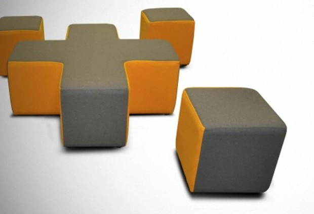 Stylish Soft Seating Design For Commercial And Institution