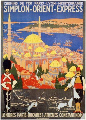 Simplon Orient Express London Turkish Istanbul Train