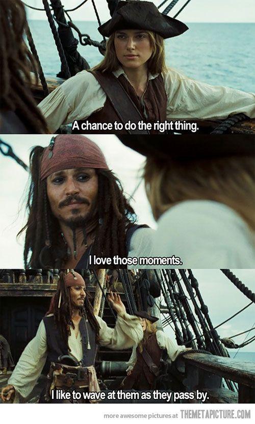 I love jack sparrow.: Johnny Depp, Jacksparrow, Captain Jack Sparrow, Jack Sparrow Quotes, Bye Bye, Jack O'Connel, Johnnydepp, Pirate, Role Models