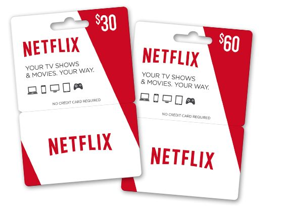 Who doesn't love Netflix??? Netflix now has prepaid gift cards, and you can find where to buy them using the link shown. Again, I don't find gift cards impersonal. :)