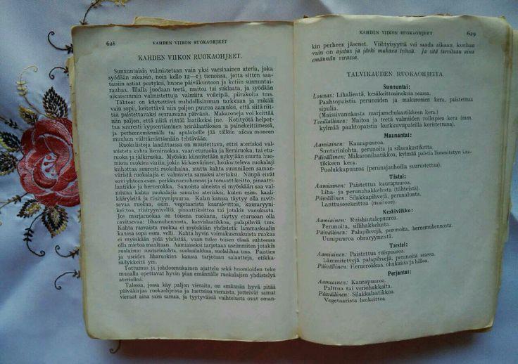 Vanhan keittokirjan opastusta! Jopa siihenkin aikaan on ollut viihtyisyys iso asia ja lisäarvo tekijä!