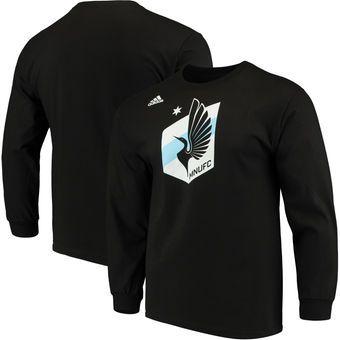 Minnesota United FC adidas Logo Set Long Sleeve T-Shirt - Black