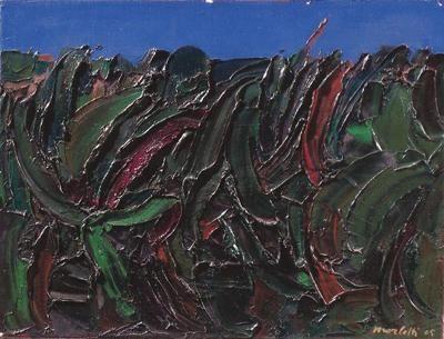 Ennio Morlotti - Vegetazione 1965