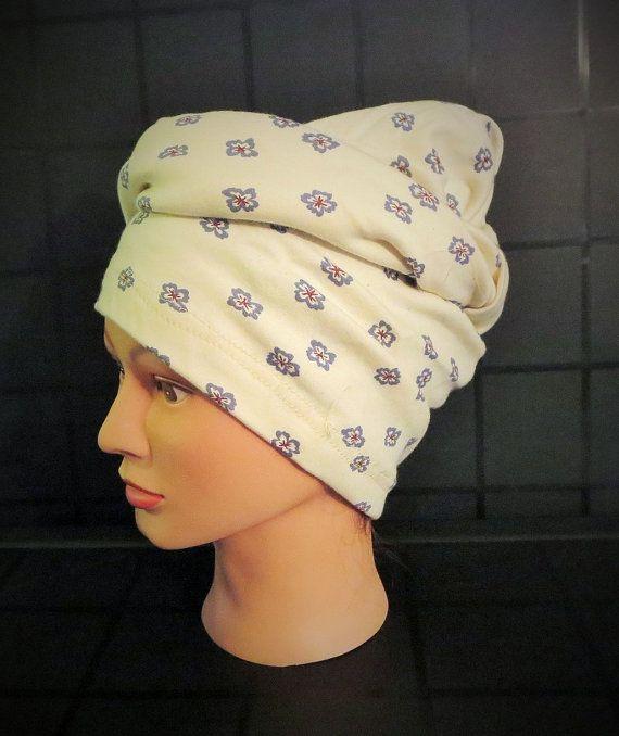 Upcycyled Fabric Hair Turban  Infinity Scarf  Hair by TiStephani, $23.00