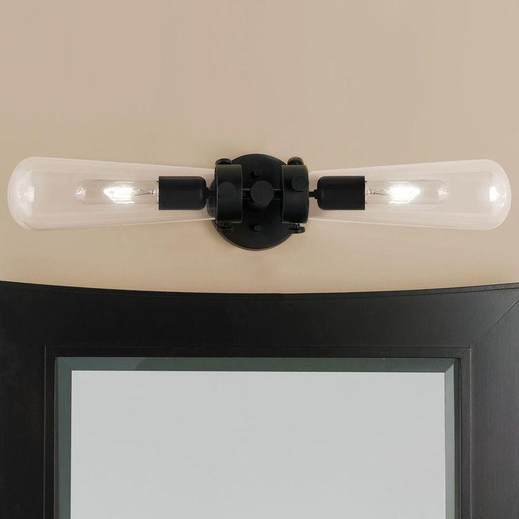 Glass Vial Vanity Light
