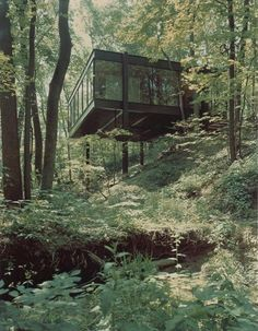 The Ben Rose House, 1953. Designed by architects A. James Speyer and David Haid